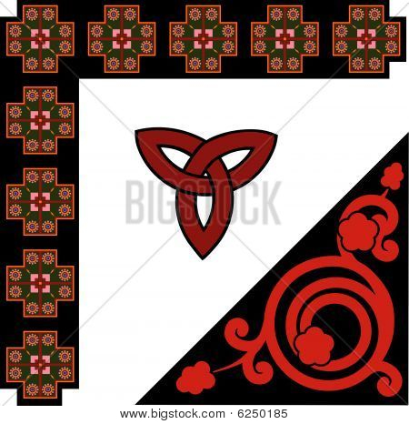 celtic pattern set