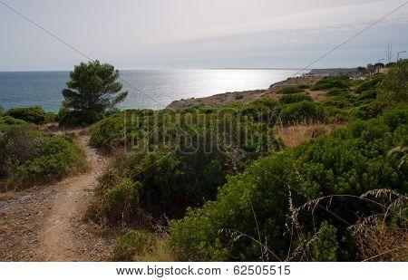 Algar Seco In The Algarve In Portugal