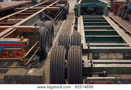 Container Chassis Trailer