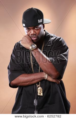 Rap artist Christopher Smith
