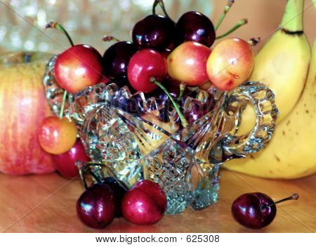 Cherries And Fruit