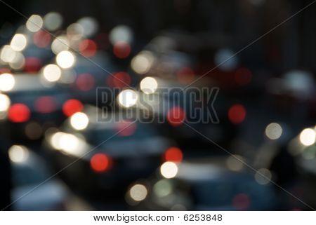 Rush Hour Traffic Blur