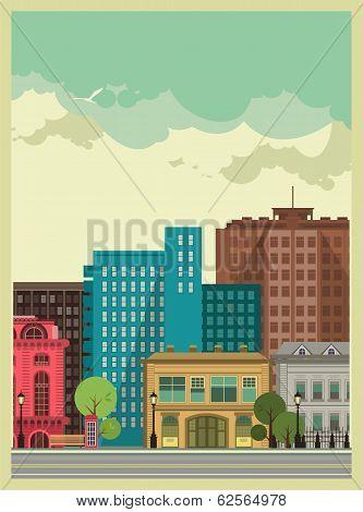 City Background [