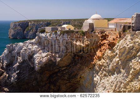 Cape Saint Vincent In The Algarve, The Fortaleza De Beliche, Nea