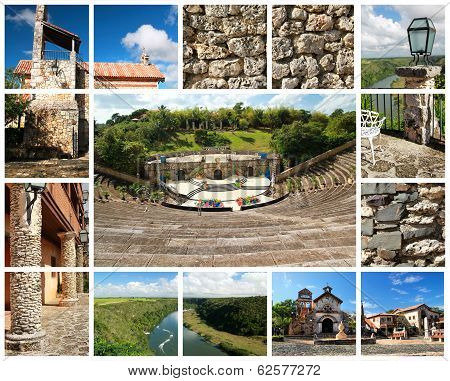 Altos De Chavon Collage