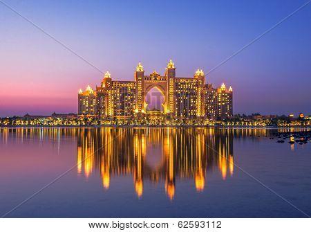 Atlantis hotel in Palm Jumeirah Dubai