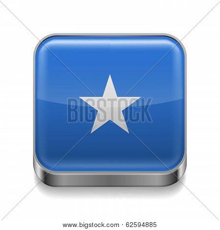 Metal  icon of Somalia