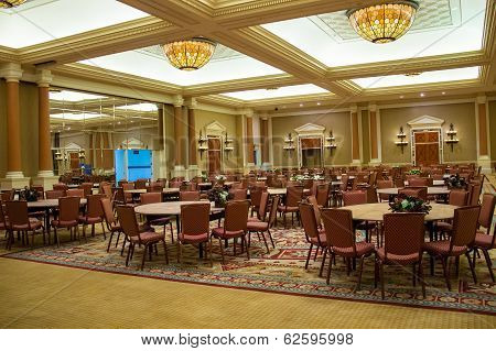 Conference Hall In Caesar's Palace In Las Vegas