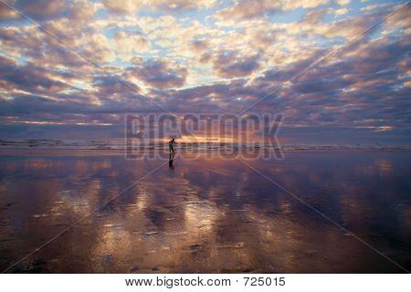Beach Boarding