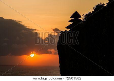 Sunset At Uluwatu Bali Indonesia
