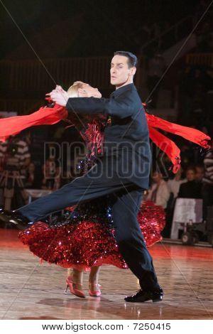 The Ballroom Dance Lesson
