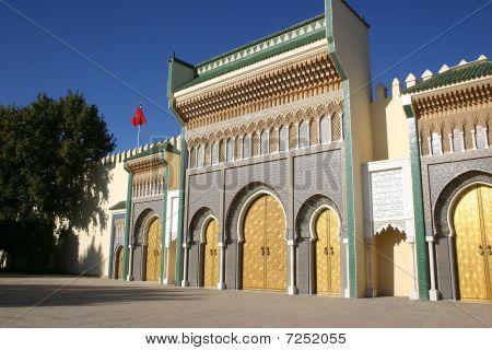 Der königliche Palast am Fez