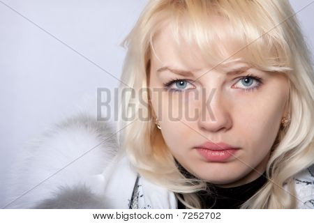 The Girl The Blonde Blue Eyes