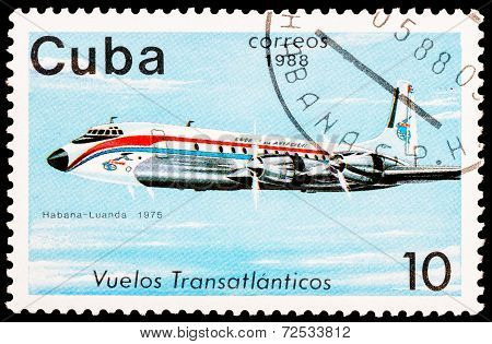 Post Stamp From Cuba