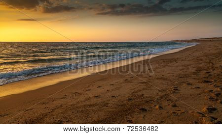 Sunset In Hossegor