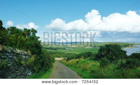 The Road From Mull Of Kintyre