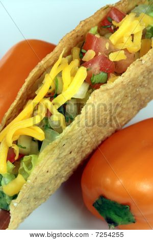 Delicious mexican tacos perfect appetizer meal or delicious snack poster