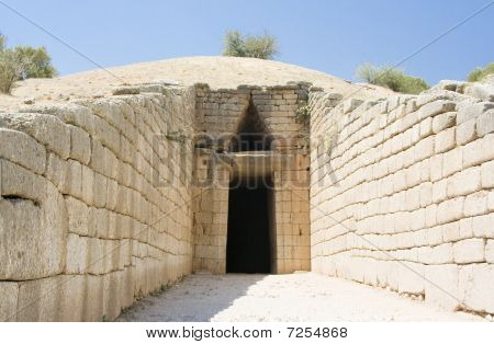 Greek Tomb Of Agamemnon
