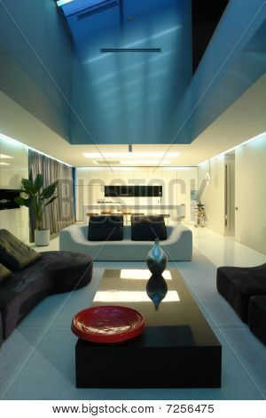interior of a living room min modern style