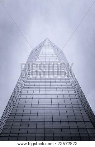 Cuatro Torres Business Area (CTBA) building skyscraper, in Madri