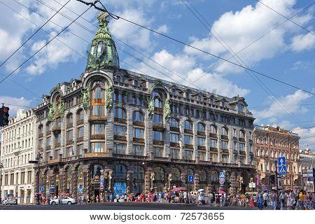 Book House (singer House) In Saint Petersburg