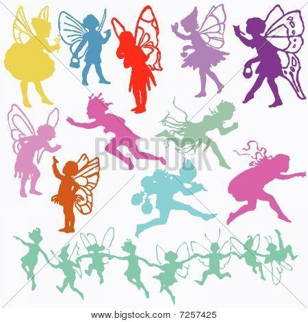 Set of fairy