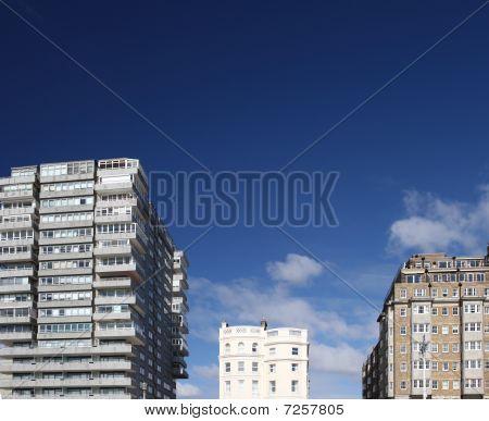 Tower Block Modern Classic Office Flat