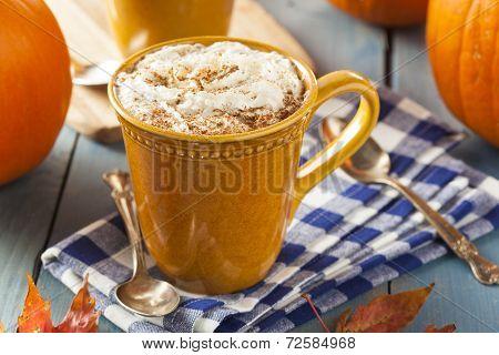 Autumn Pumpkin Spice Latte