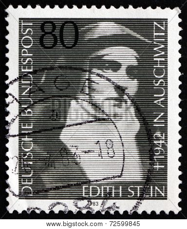 Postage Stamp Germany 1983 Edith Stein, Martyr And Saint