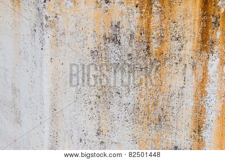 Wall With Rust Texture