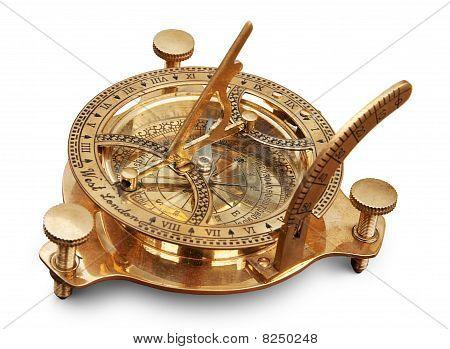 Old measuring instrument for navigation