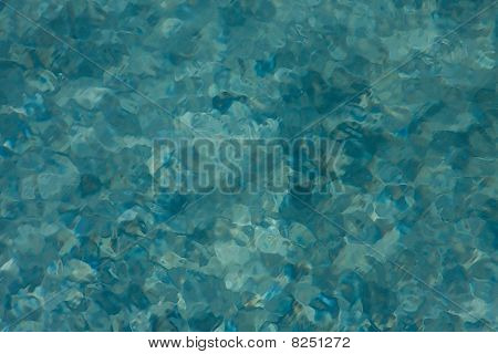 Painterly Blue Background