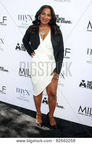 LOS ANGELES - FEB 6:  Tina Douglas at the MILF (Moms I like To Follow) Celebration Of Entertainment at a SLS Hotel on February 6, 2015 in Beverly Hills, CA