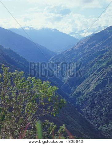 Colombian Andes (6x7cm transparency)