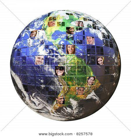 Red global de personas