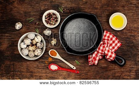 Ingredients For Cooking Eggs