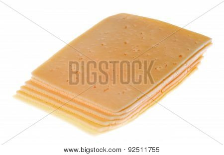 Cheese Isolated On A White