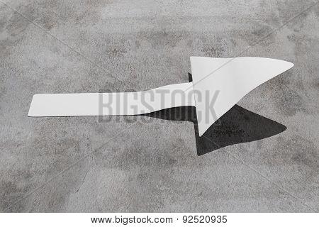Arrow In Asphalt