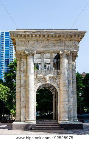 Carnegie Arch In Atlanta