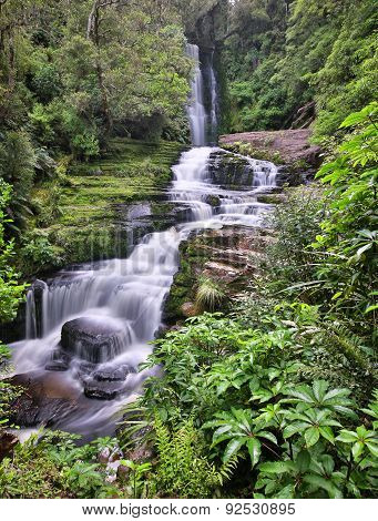 McLean Falls (Catlins Forest Park New Zealand)