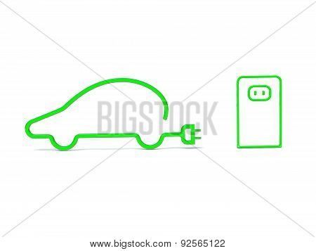 e-car symbol