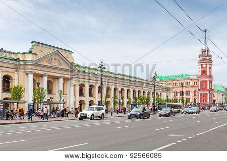 Nevsky Prospect, Great Gostiny Dvor