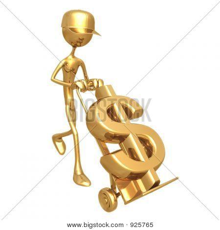 Handtruck Dollar