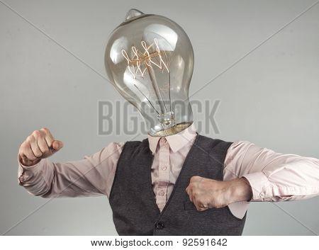 Lightbulb Head