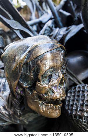 Monument Of Grant Privileges Of Dusseldorf