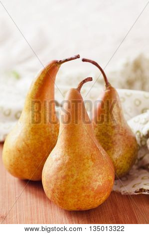 Fresh Ripe Organic Pears
