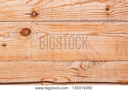 Textured wooden bar wall with knots and cracked surface