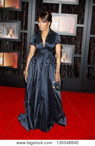 Angela Bassett at the VH1's 14th Annual Critics' Choice Awards held at the Santa Monica Civic Auditorium in Santa Monica, USA on January 8, 2009.