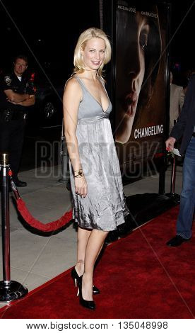 Alison Eastwood at the Los Angeles Premiere of