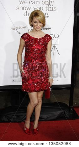 Elizabeth Banks at the Los Angeles premiere of 'Zack and Miri Make a Porno' held at the Grauman's Chinese Theater in Hollywood, USA on October 20, 2008.